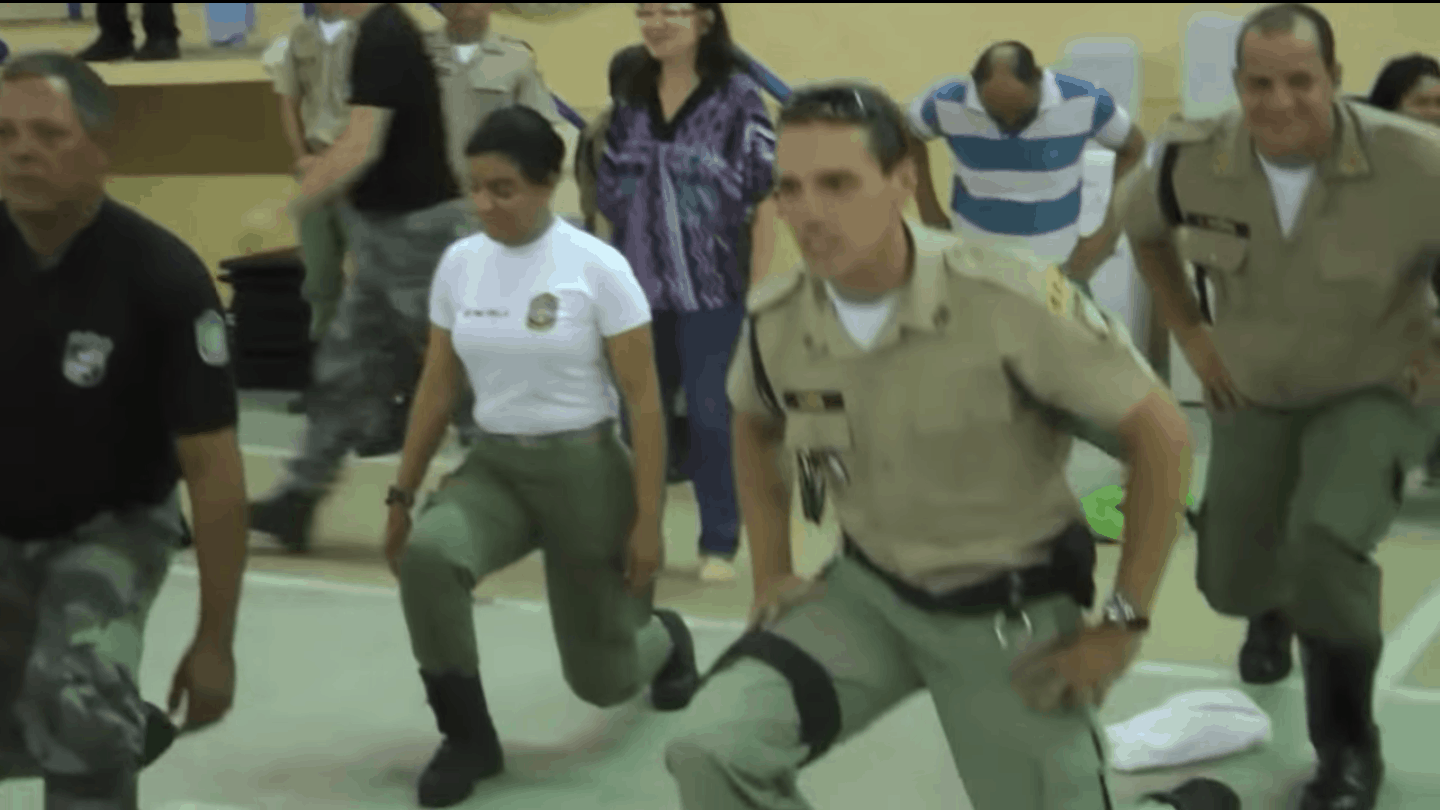 Video: 250 Columbian Police, Firemen, SWAT and Medics do TRE