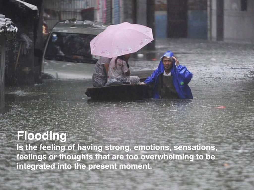 definition of flooding in trauma treatment