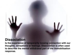 definition of dissociation