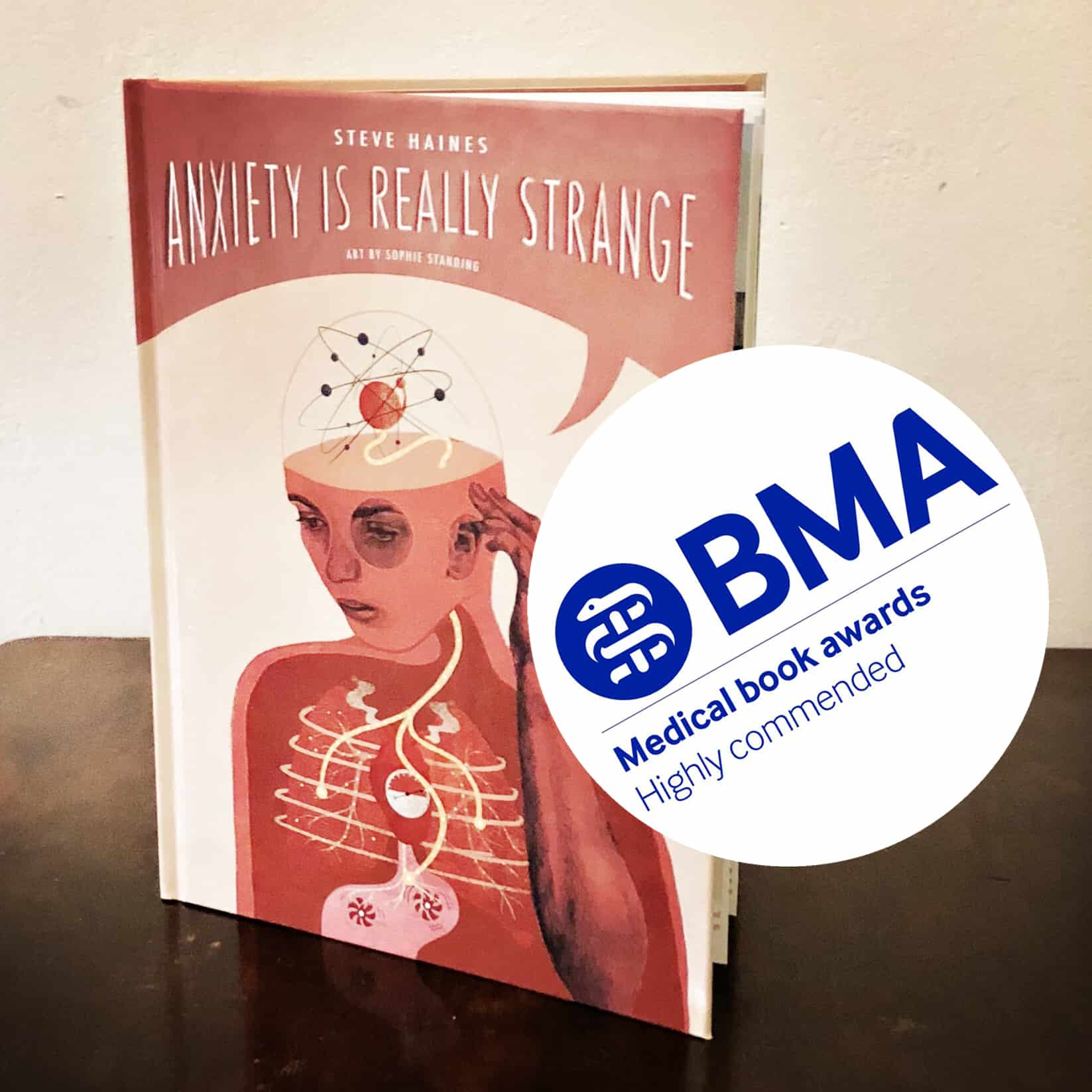 Anxiety Is Really Strange wins an award!