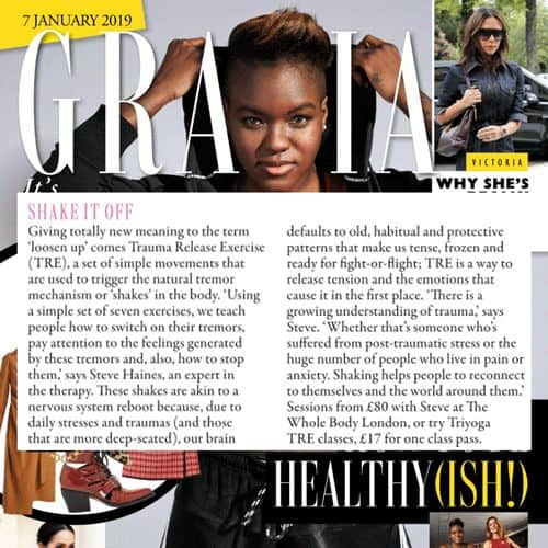 grazia magazine tre article